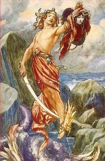 Perseo y Medusa.